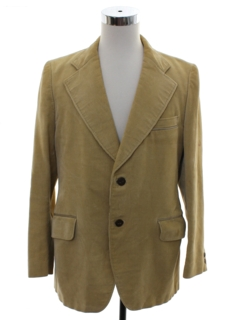 1970's Mens Corduory Blazer Sport Coat Jacket
