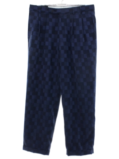 1980's Mens Totally 80s Zoot Style Slacks Pants