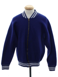 1960's Mens Champion Brand Varsity Letterman Style Baseball Jacket