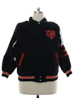 1990's Mens NFL Chicago Bears Varisty Football Team Jacket