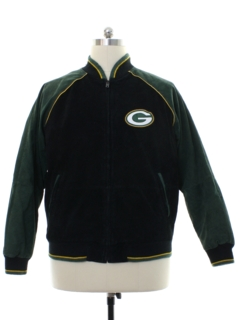 1990's Mens NFL Green Bay Packers Team Varsity Style Football Jacket