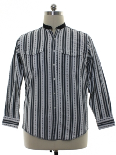 1980's Mens Totally 80s Western Shirt