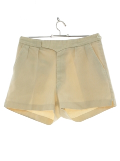 1960's Mens Mod Tennis Sports Shorts