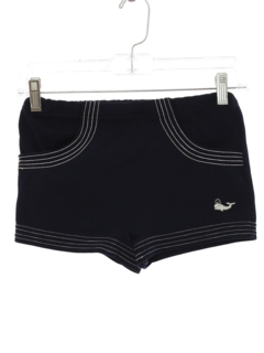 1960's Mens or Boys Mod Swim Shorts