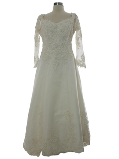 1980's Womens Wedding Dress