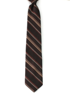 1980's Mens Clip-on Necktie