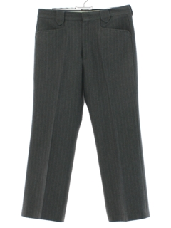 1970's Mens Pinstriped Western Style Leisure Pants