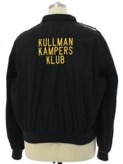 1980's Mens Unfortunately Named Kullman Kampers Klub Members Only Jacket