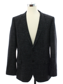 1980's Mens Hugo Boss Designer Totally 80s Blazer Sportcoat Jacket