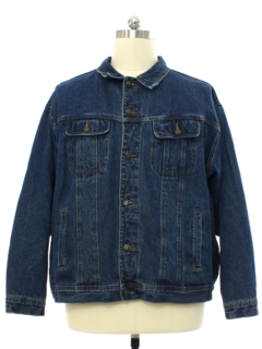 1990's Mens Wrangler Denim Trucker Jacket