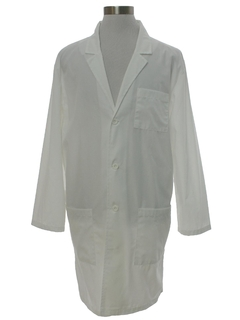 1990's Mens Dickeis Work Shop Lab Coat Jacket