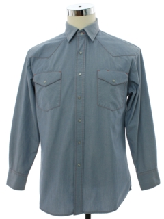 1990's Mens Big Mac Western Work Shirt