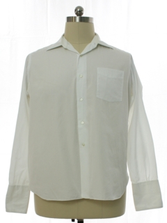 1950's Mens French Cuff Shirt