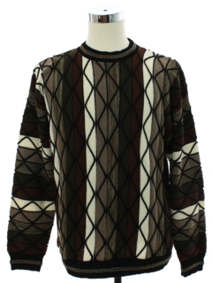 1980's Mens Cosby Style Sweater