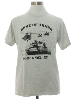 1990's Mens Military Fort Knox T-shirt
