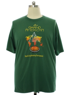 1990's Mens Single Stitch Trapshooting Tournament Sports T-shirt
