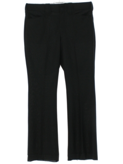 1970's Mens Unhemmed Western Style Leisure Pants