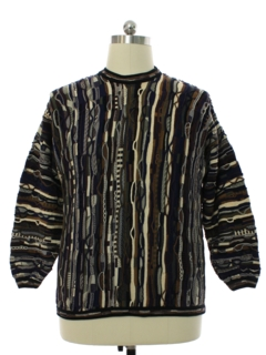 1990's Mens Coogi Inspired Cosby Style Sweater
