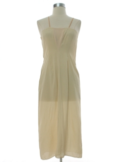 1960's Womens A-Line Lingerie Slip Dress