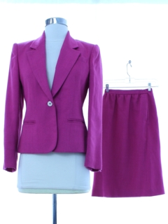 1980's Womens Totally 80s Suit