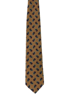 1980's Mens Silk Necktie