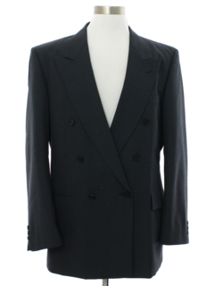 1980's Mens Giorgio Fellini Totally 80s Swing Style Blazer Sportcoat Jacket