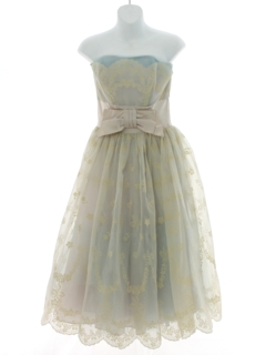 1950's Womens Fab Fifties Prom or Cocktail Dress