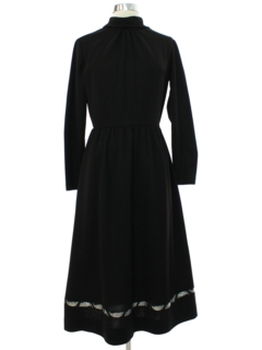 1970's Womens Toni Todd Mod Knit Dress