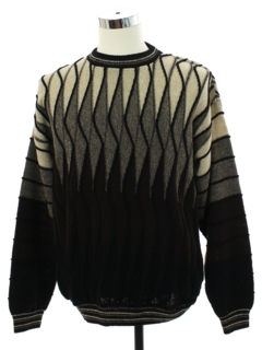 1980's Mens Totally 80s Look Cosby Style Sweater