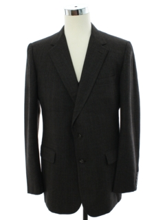 1990's Mens Two Piece Blazer Style Sport Coat Jacket