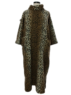 1990's Womens Muu Muu Lounge Robe Style Dress
