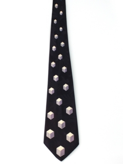 1940's Mens Geometric Wide Swing Necktie