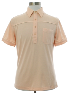1980's Mens Totally 80s Polo Style Golf Shirt