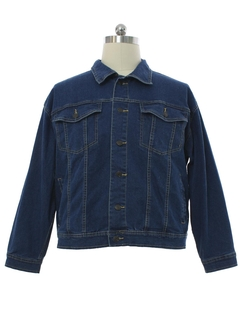 1990's Mens Duke Denim Western Style Trucker Jacket