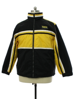 1990's Mens TOYO Motorsport North End Racing Style Ski Jacket