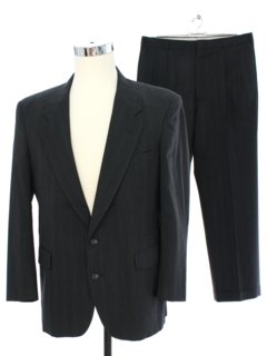 1980's Mens Wool Suit