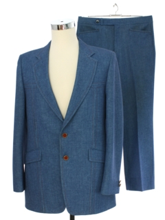 1970's Mens The Knack Leisure Suit