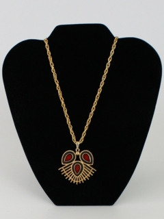 1970's Womens Accessories - Medallion Style Necklace
