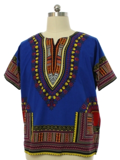 1970's Mens Dashiki Shirt