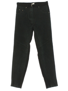 1990's Womens Suede Pants