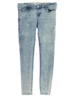 1990's Womens Guess Acid Washed Stretchy Skinny Jeans Pants