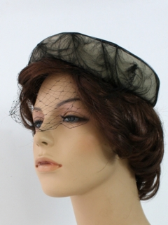 1950's Womens Accessories - Fab Fifties Cocktail Hat