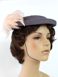 1950's Womens Accessories - Fab Fifties Hat