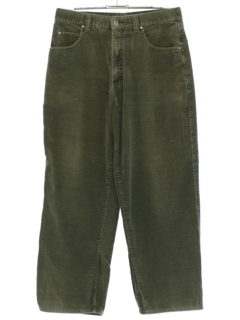 1990's Mens Baggy Corduroy Pants