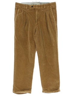 1990's Mens Pleated Corduroy Pants