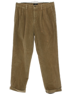 1990's Mens Dockers Pleated Corduroy Pants