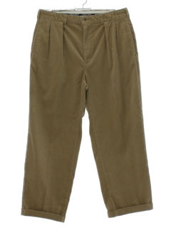 1990's Mens Polo Golf Corduroy Pants
