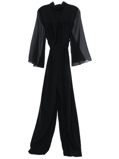 1980's Womens Totally 80s Jump Suit
