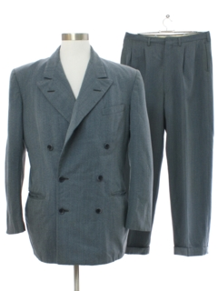 1940's Mens Fab 40s Wool Suit