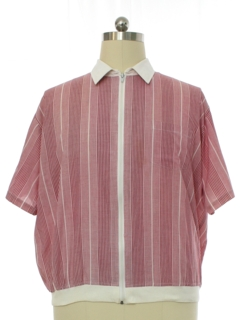 1980's Mens Totally 80s Shirt-Jac Style Shirt
